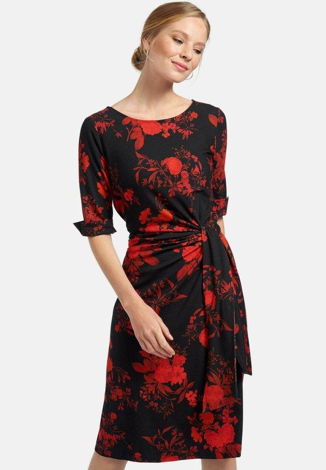 Korte jurk - rot multicolor