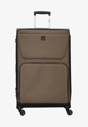BENDIGO - Wheeled suitcase - khaki