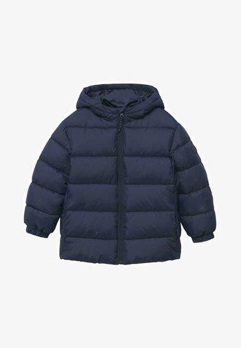 Zimní kabát - dark navy