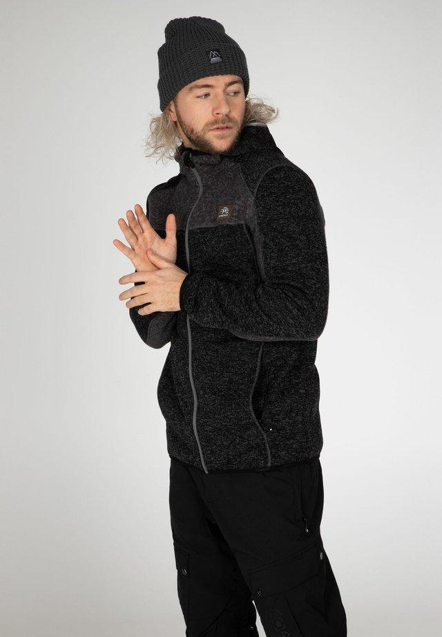 SCOTTY - Fleece jacket - true black