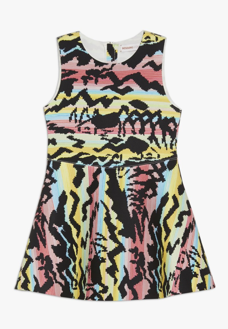 Missoni Kids - DRESS - Vestito di maglina - black