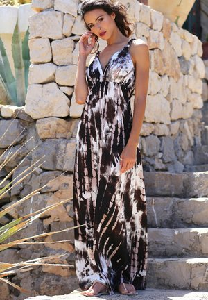 Maxi šaty - brown