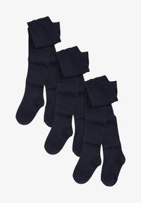 Next - SCHOOL TIGHTS 3 PACK - Tights - blue - 1