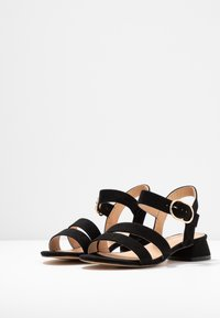 Office Wide Fit - MARIA WIDE FIT - Sandals - black - 4