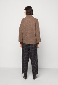 Won Hundred - BLAKELY - Sweter - brown melange - 2