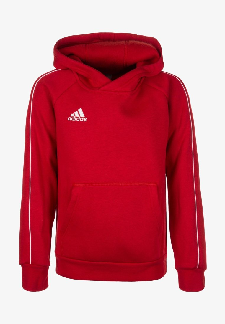 adidas Performance - CORE - Mikina skapucí - red