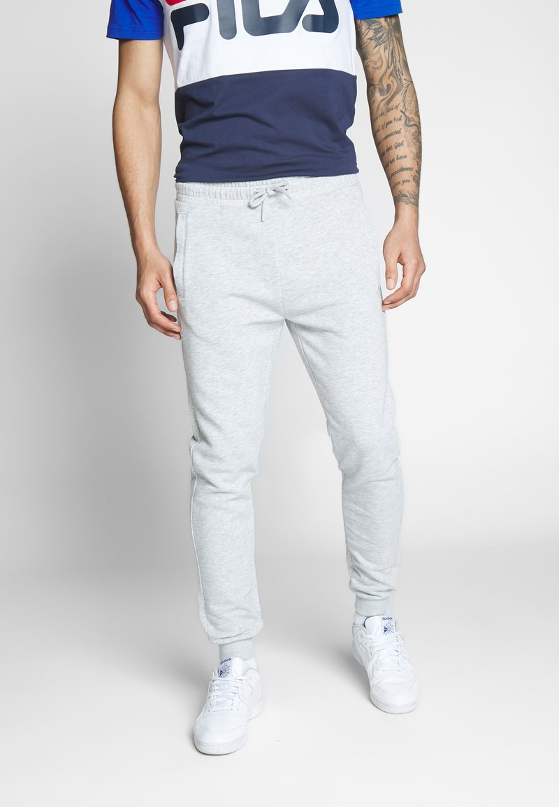 Fila - EDAN PANTS - Teplákové kalhoty - light grey melange bros