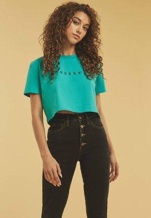 Print T-shirt - himmelblau