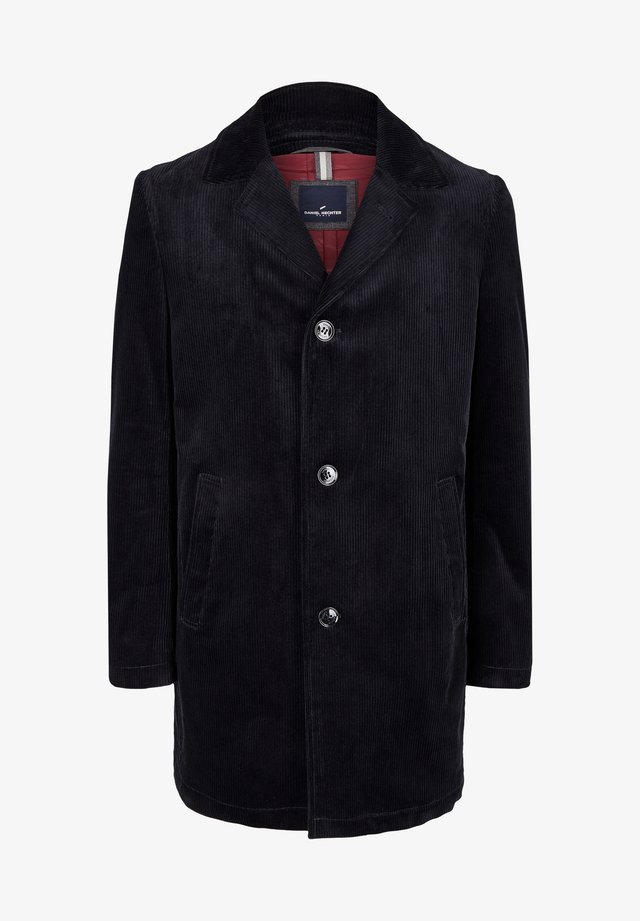 CORD MANTEL - Classic coat - dunkelblau
