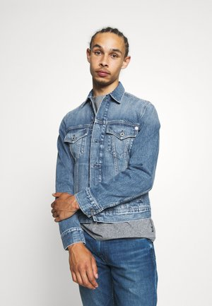 PINNER - Denim jacket - blue denim