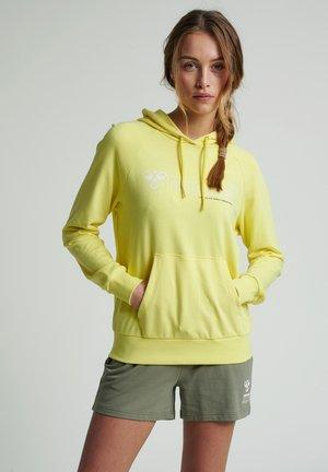 Bluza z kapturem - celandine