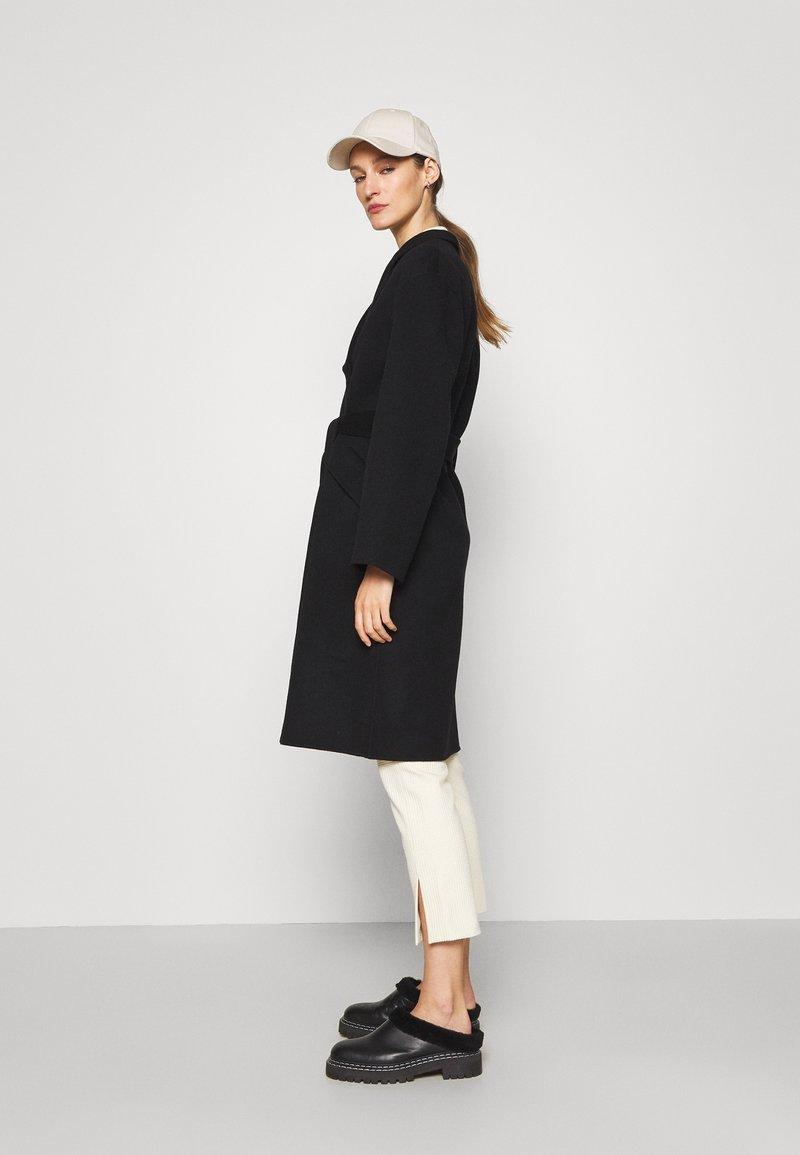 Theory - BELT COAT LUXE - Classic coat - black