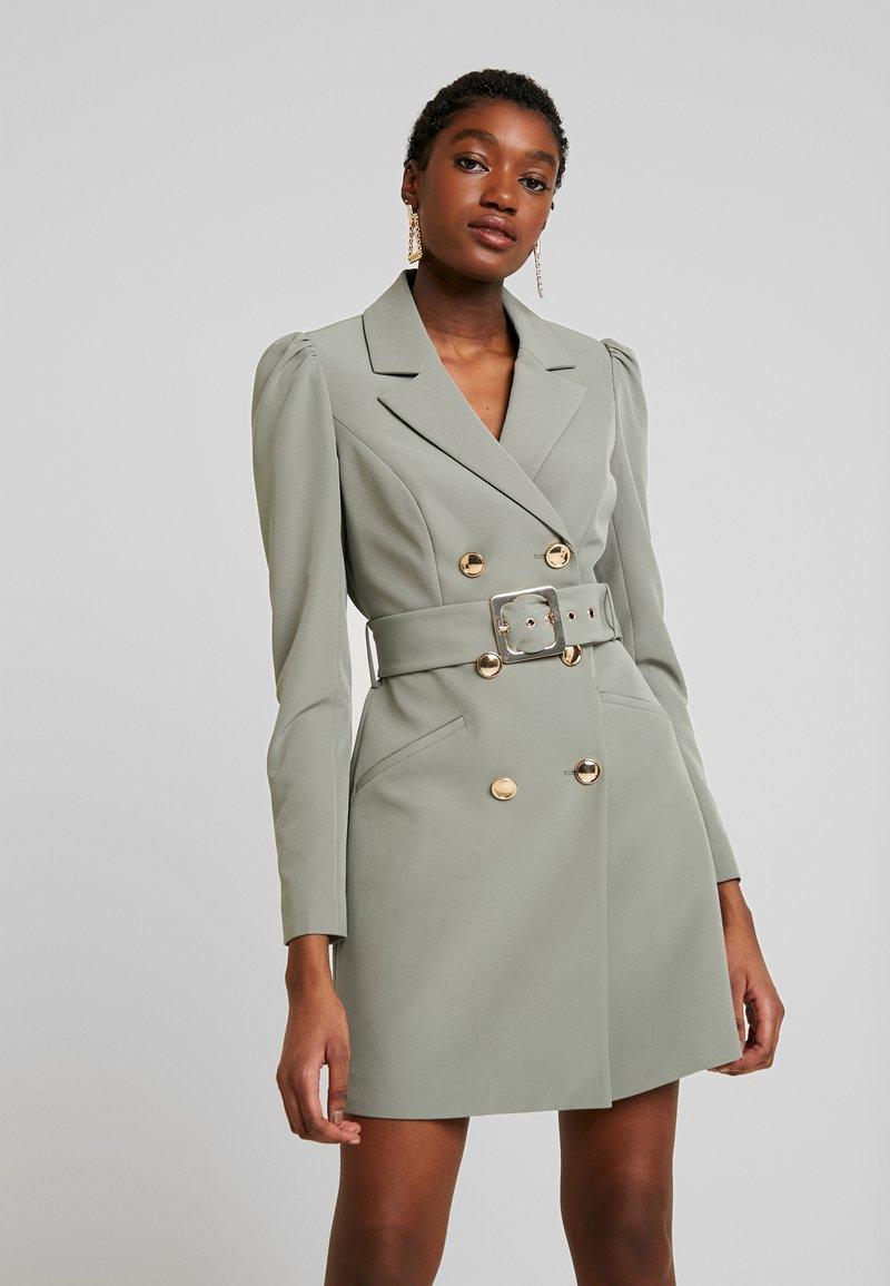 Forever New - BERNADETTE BELTED BLAZER DRESS - Day dress - khaki