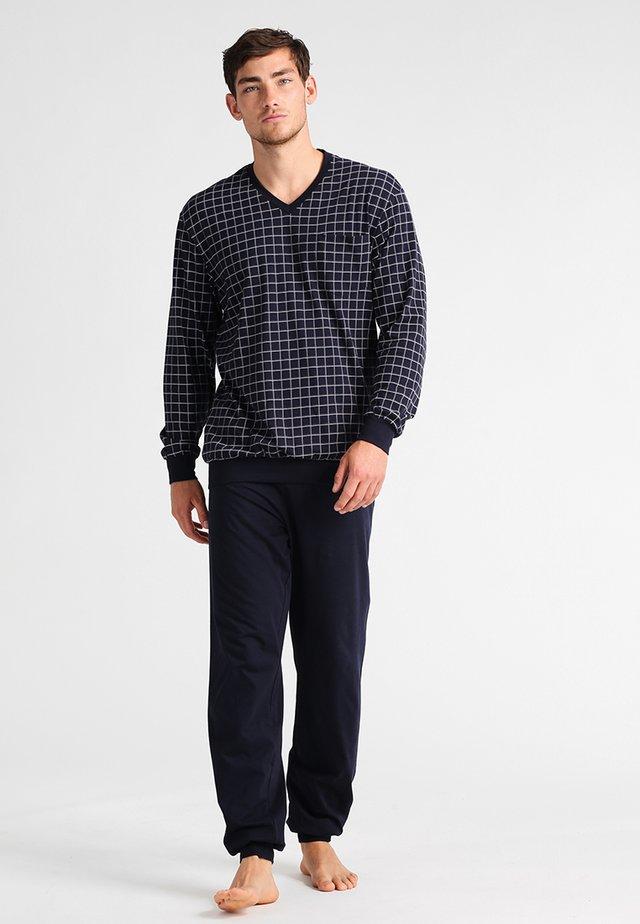 SET - Pyjamas - dunkelblau