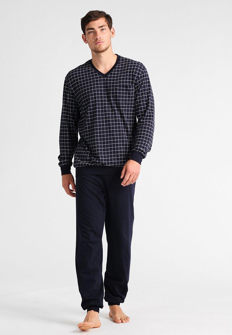 Schiesser - SET - Pyjama set - dunkelblau
