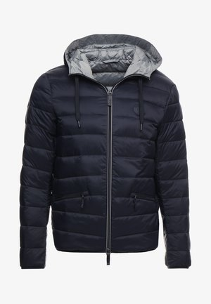 Down jacket - navy/melange grey