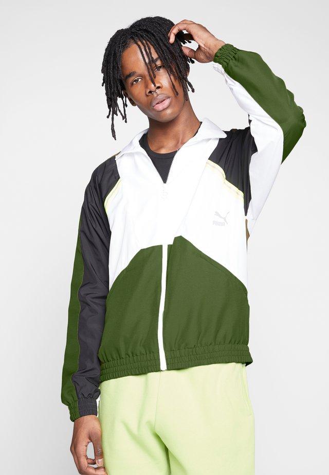 JACKET - Training jacket - dark olive