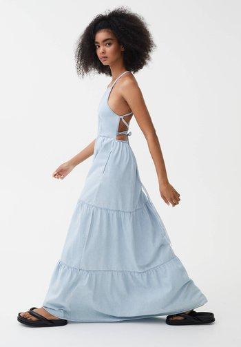 Spijkerjurk - light blue