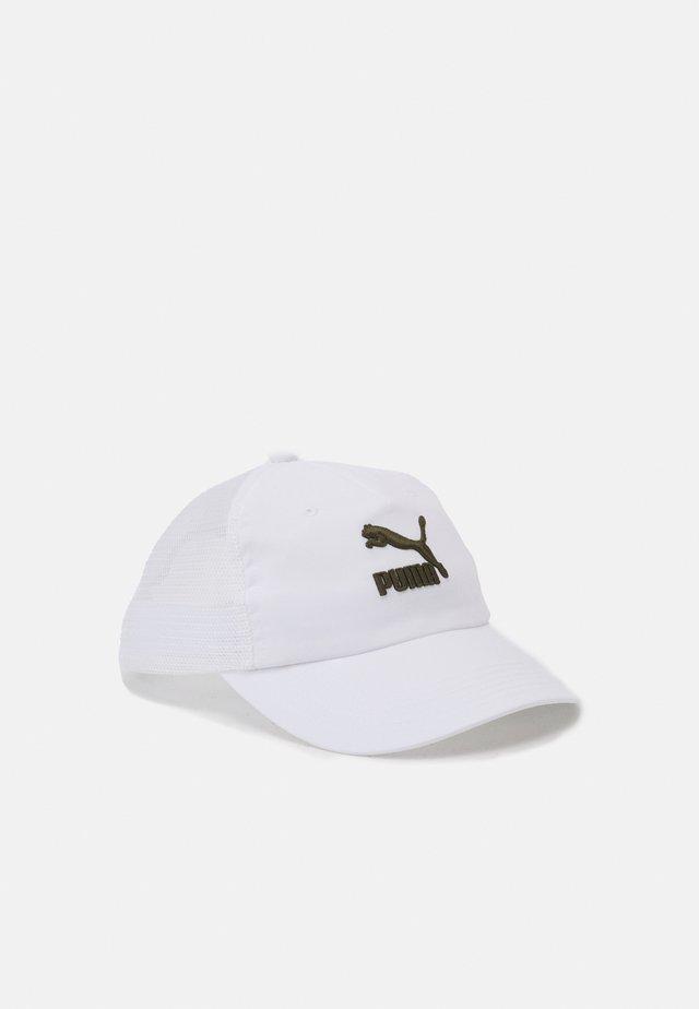 TRUCKER UNISEX - Cappellino - white