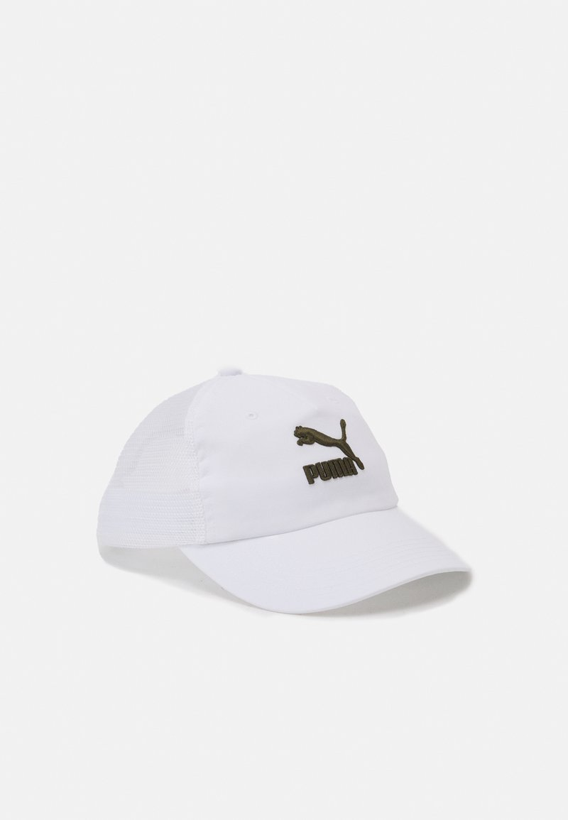 Puma - TRUCKER UNISEX - Cap - white