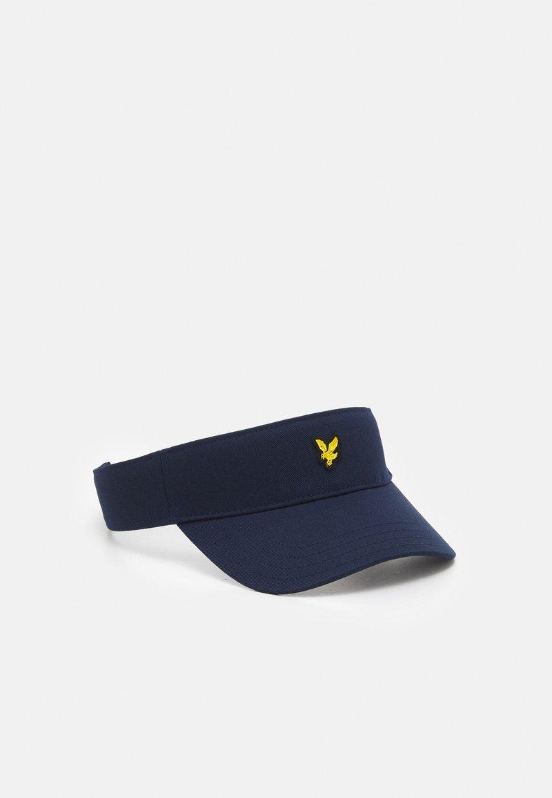 Lyle & Scott - TENNIS VISOR CAP - Keps - navy