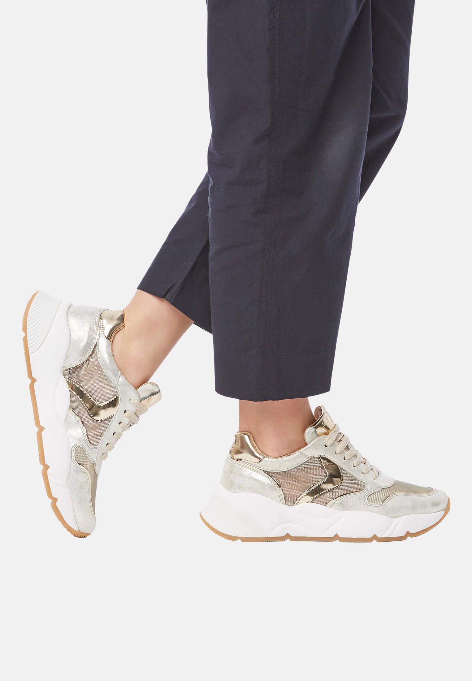 Gutes Angebot Voile Blanche SHEEL MESH - Sneaker low - gold   Damenbekleidung 2020