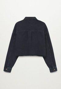 Mango - Denim jacket - black denim - 1