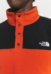 The North Face - GLACIER SNAP - Fleecetröja - burnt ochre/black - 6