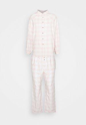 WARM BED SHIRT AND PANT  - Pyjamas - pink
