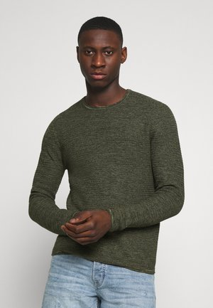 ONSWICTOR STRUCTURE CREW NECK - Jumper - scarab