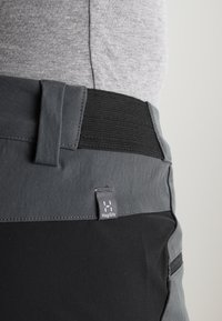 Haglöfs - RUGGED FLEX PANT MEN - Pantalones montañeros largos - magnetite/true black - 7