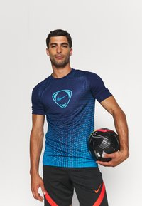 Nike Performance - ACADEMY - Print T-shirt - blue void/imperial blue - 3