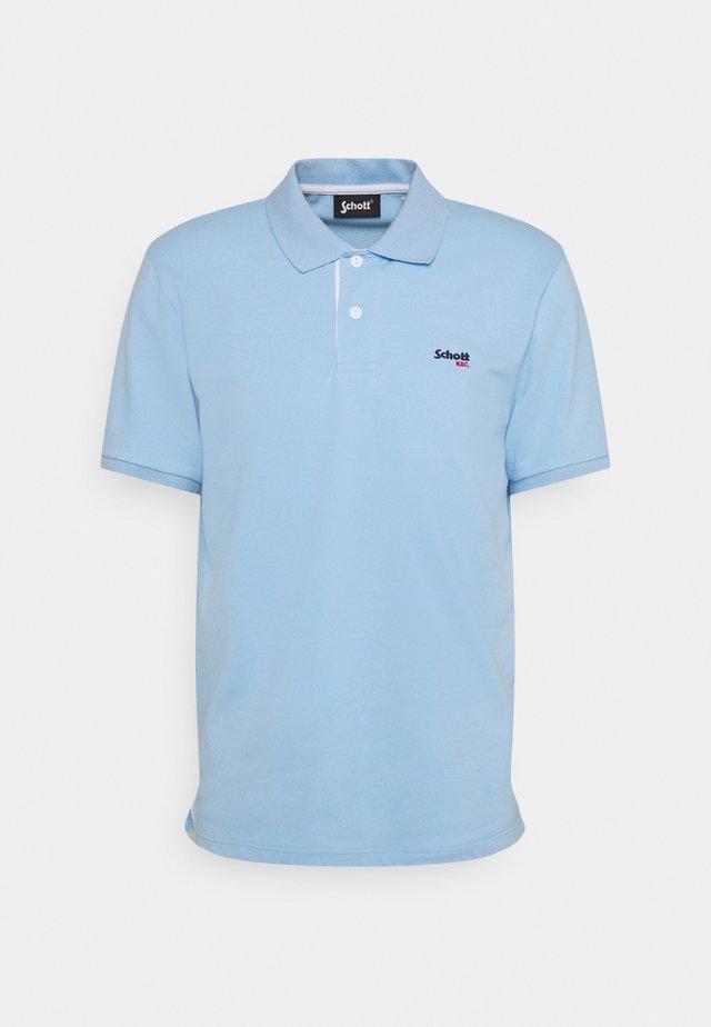 PSMILTON - Polo shirt - sky/white