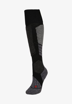 Knee high socks - black mix