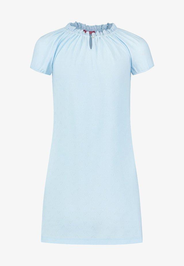 LACE EDGE POINTELLE - Nightie - blue