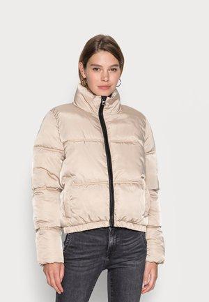 NMANNI  JACKET - Winter jacket - white pepper