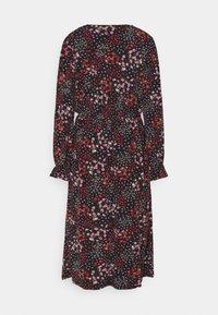 Simply Be - FLORAL MIDI DRESS - Jersey dress - black - 1