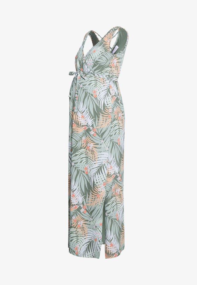 MLCORINE TESS DRESS - Maxi-jurk - snow white
