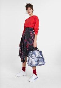 Desigual - FAL_BRINDISI - A-line skirt - blue - 1
