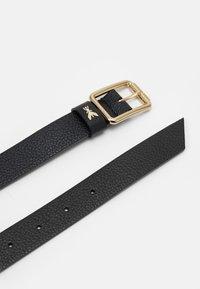 Patrizia Pepe - BASIC BELT - Belt - nero/gold-coloured - 3