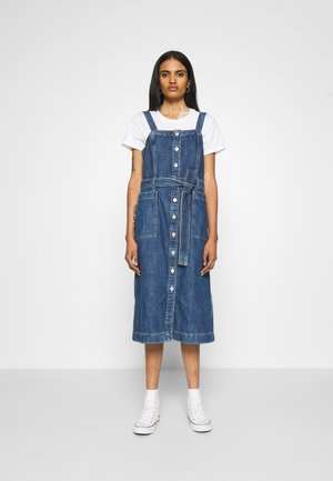 CALLA DRESS - Denim dress - out of the blue