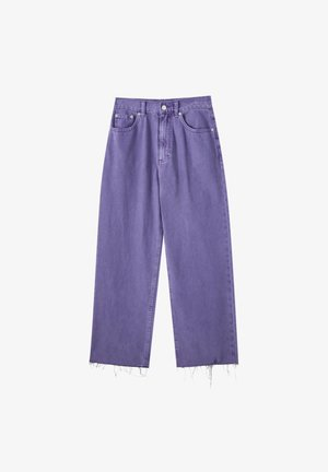 Široké džíny - rose