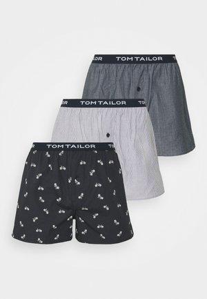 3 PACK - Boxer shorts - grey