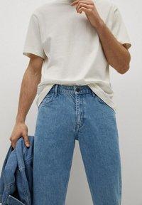 Mango - HILLARY-I - Jeans straight leg - blu medio - 3