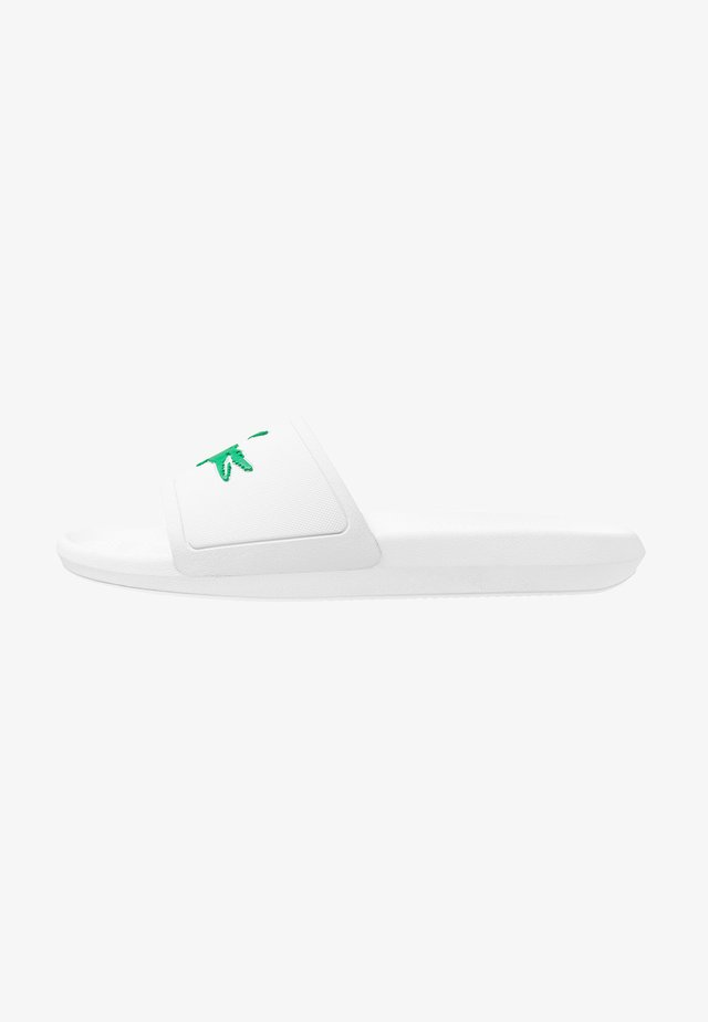 CROCO SLIDE - Rantasandaalit - white
