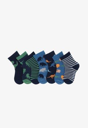 7ER-PACK WILDNIS - Socks - marine