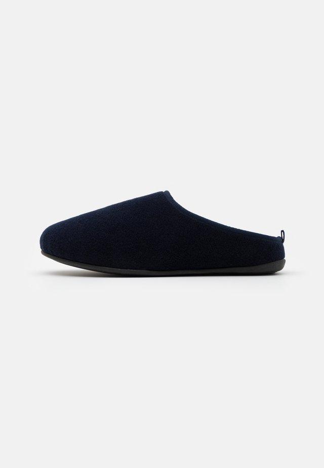 Slippers - dark blue