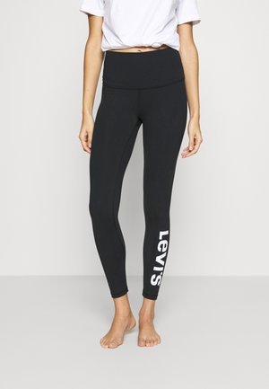 OFF DUTY LEGGING - Pyjama bottoms - black