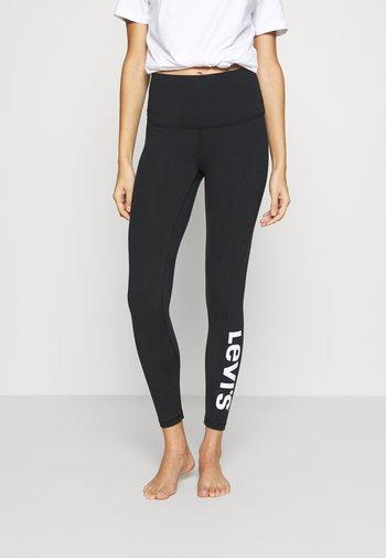 OFF DUTY LEGGING - Bas de pyjama - black