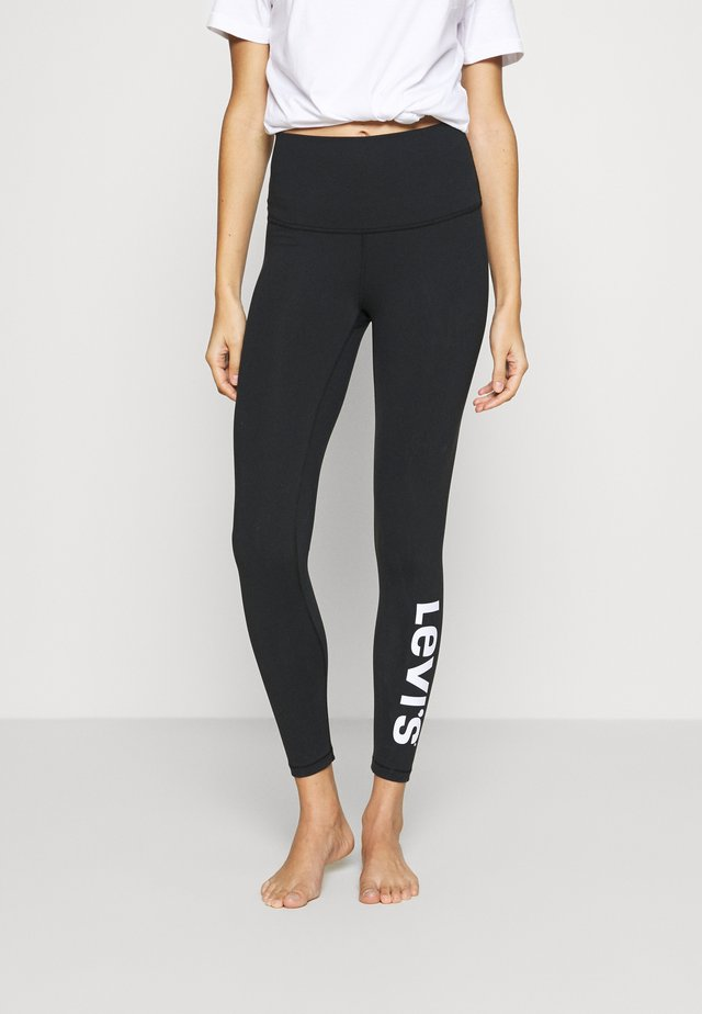 OFF DUTY LEGGING - Pantaloni del pigiama - black